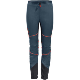 VAUDE Performance Pantalon Enfant, steelblue/anthracite